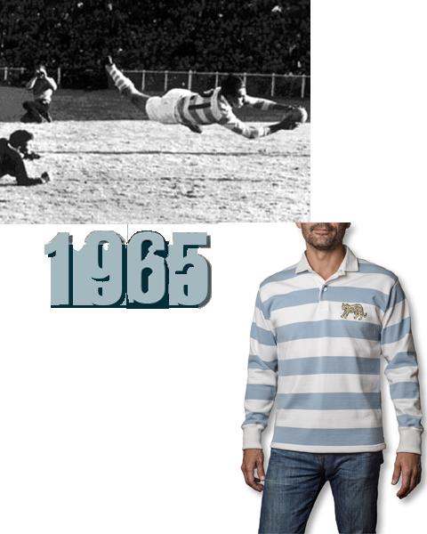 Maillot vintage des Pumas 1965