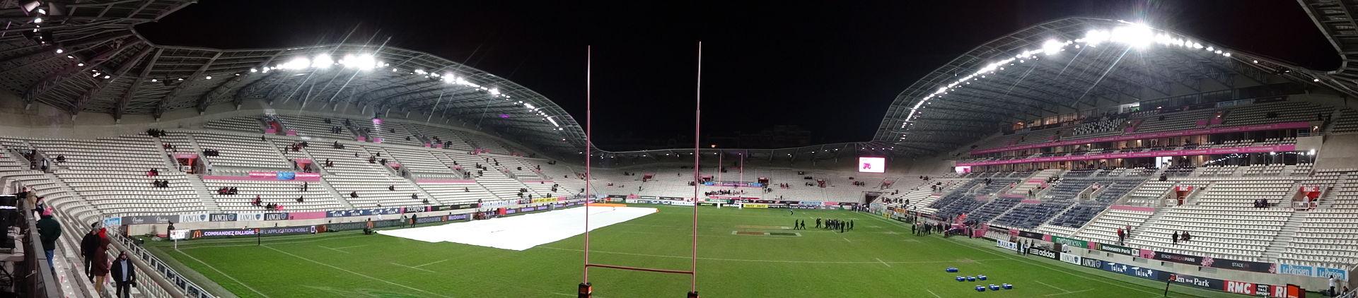 Nouveau Stade jean Bouin SFR