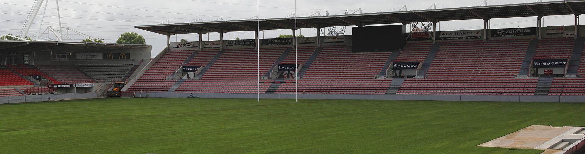 Stade Ernest Vallon Stade Toulousain