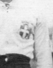 Croix de savoie emblème du maillot italien de rugby