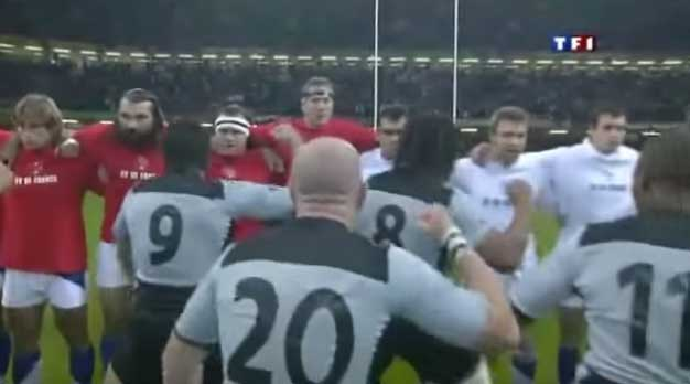 Haka France All-Blacks 2007