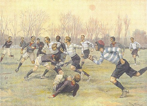 Premiers maillots du Racing - 1892
