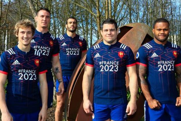 Maillot France Rugby #2023