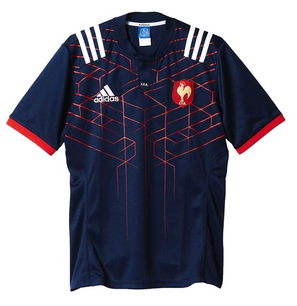 Maillot Rugby Replica XV de France