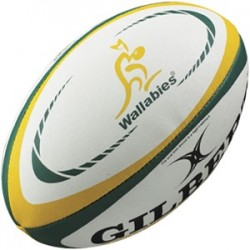 Ballon Rugby Replica Australie T5 / Gilbert