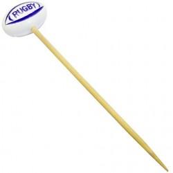 100 piques ballon de rugby 10 cm / EnModeRugby