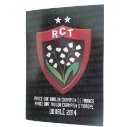 Carte Musicale RC Toulon / RCT