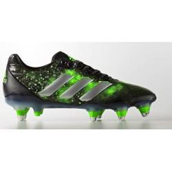 Chaussures Rugby Adipower Kakari SG Vert-Noir / adidas