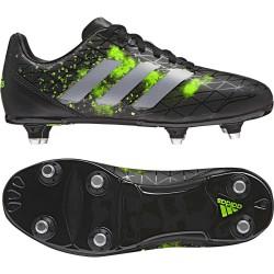 Chaussures Rugby Kakari Junior SG Vert-Noir / adidas