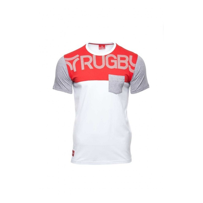 Tshirt Rosso Rugby / Rugby DIvision