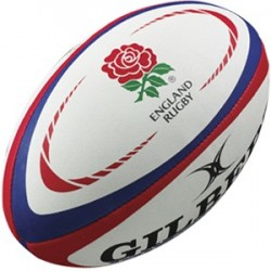 Ballon Rugby Replica Angleterre T5 / Gilbert