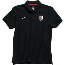 Polo Enfant noir Stade Toulousain / Nike