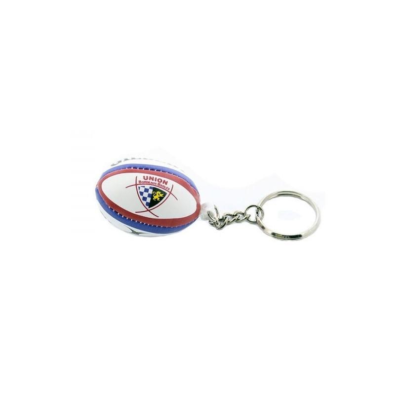 Porte-clefs ballon Rugby Bordeaux / Gilbert