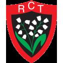 Autocollant vitrophanie RCT 15 cm / RC Toulon