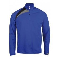 Sweat Entraînement Rugby 1/4 Zip Adulte / Proact