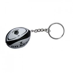Porte-Clefs Ballon Rugby Mousse Barbarians / Gilbert