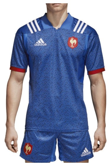 Maillot Rugby France Domicile 2018 adidas