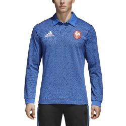 Maillot Rugby Supporteur France Manches Longues 2018 / adidas