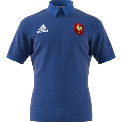 Maillot Rugby Supporteur France Manches courtes 2018 / adidas