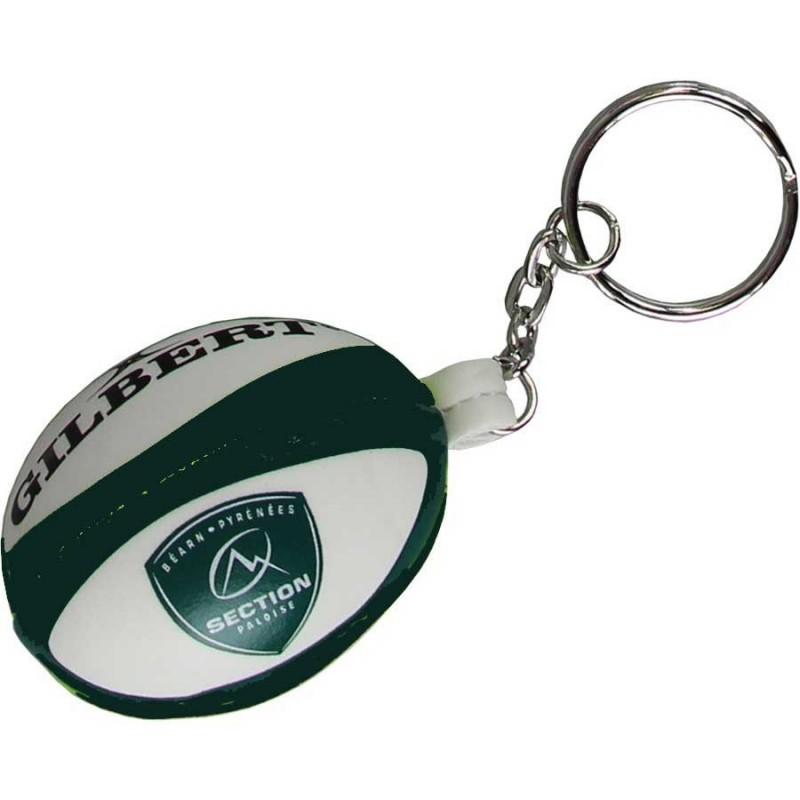 Porte-Clef ballon rugby mousse Pau / Gilbert