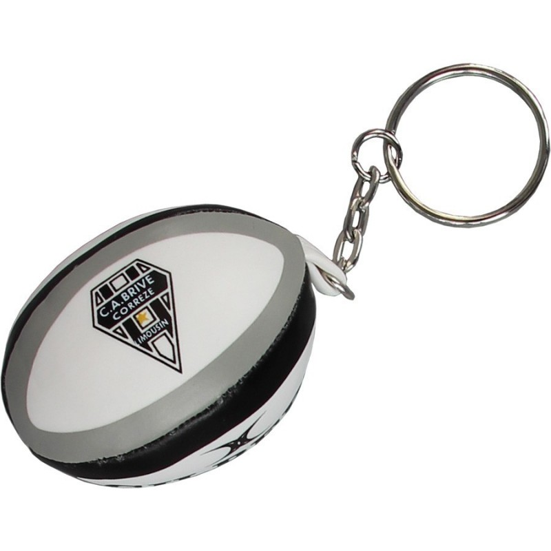Porte-Clef ballon rugby mousse Brive / Gilbert