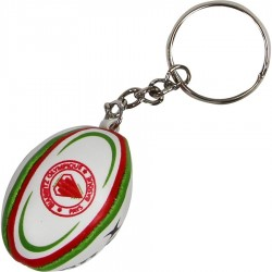 Porte-Clef ballon rugby mousse Biarritz / Gilbert