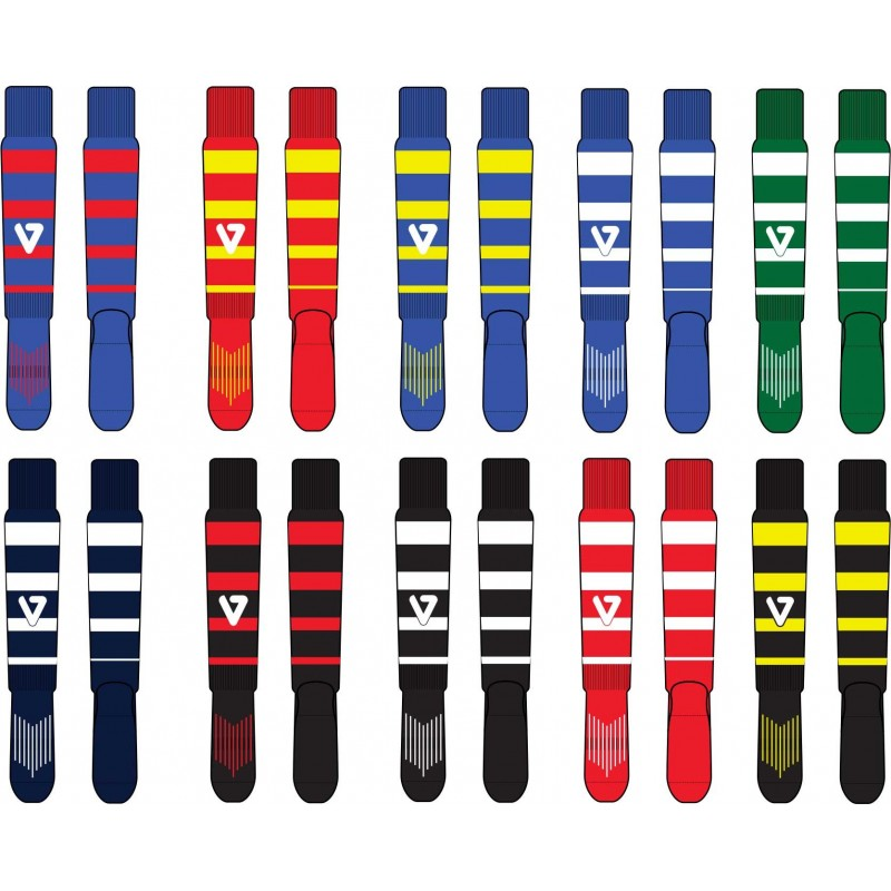16b962710fdf7 Chaussette de Rugby rayée MARA   Vestiaire du Sport