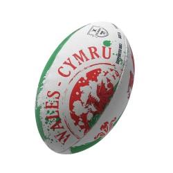 Ballon Rugby Flag Pays de Galles / Gilbert