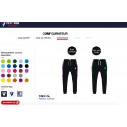 Pantalon Molleton TEKNICA personnalisable / Vestiaire du Sport