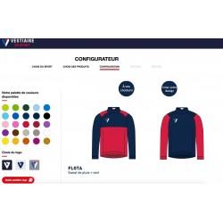 Sweat de pluie FLOTA personnalisable / Vestiaire du Sport