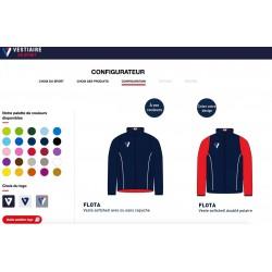 Veste Softshell FLOTA personnalisable / Vestiaire du Sport
