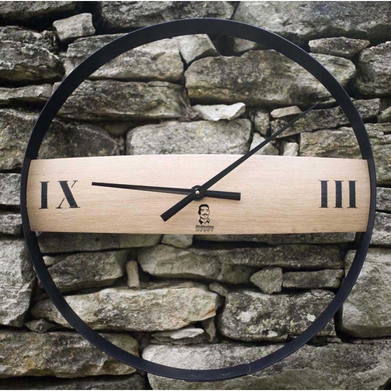 Horloge en fut de chêne / Millésime Rugby