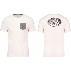 T-shirt Bio à poche / Millésime Rugby