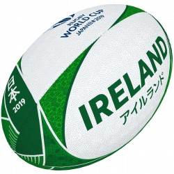 Ballon Rugby Supporteur Irlande RWC 2019 / Gilbert