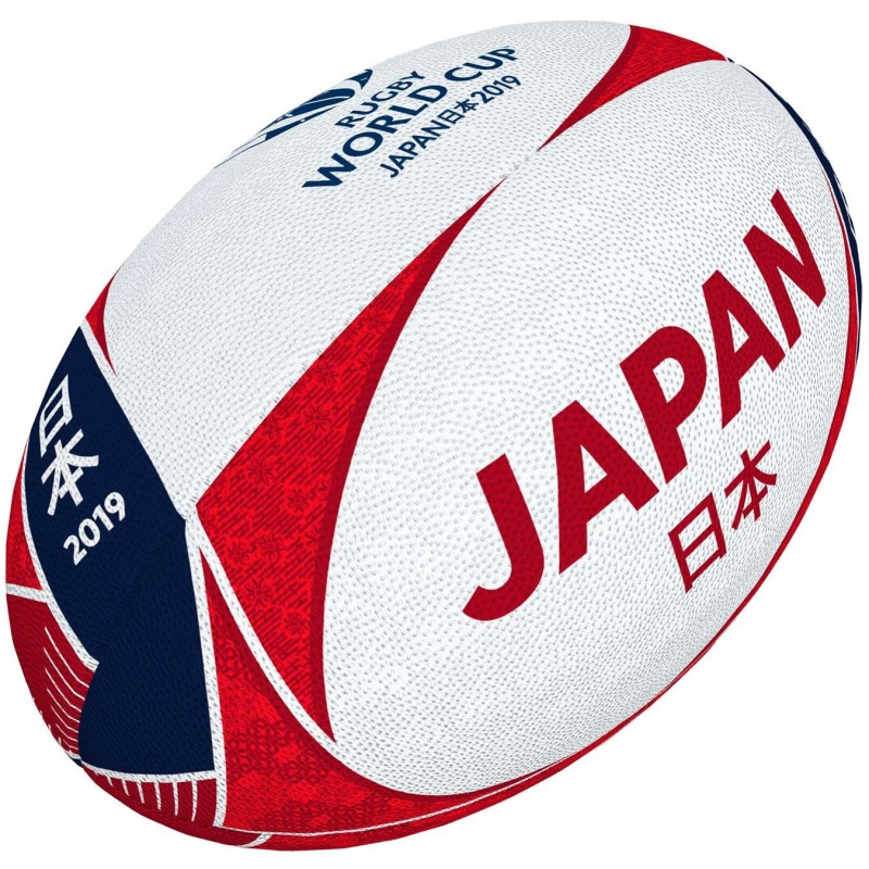 Ballon Rugby Suppoteur Japon RWC 2019 / Gilbert