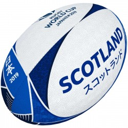 Ballon Rugby Supporteur Ecosse RWC 2019 / Gilbert