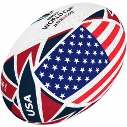Ballon Rugby Flag USA RWC 2019 / Gilbert
