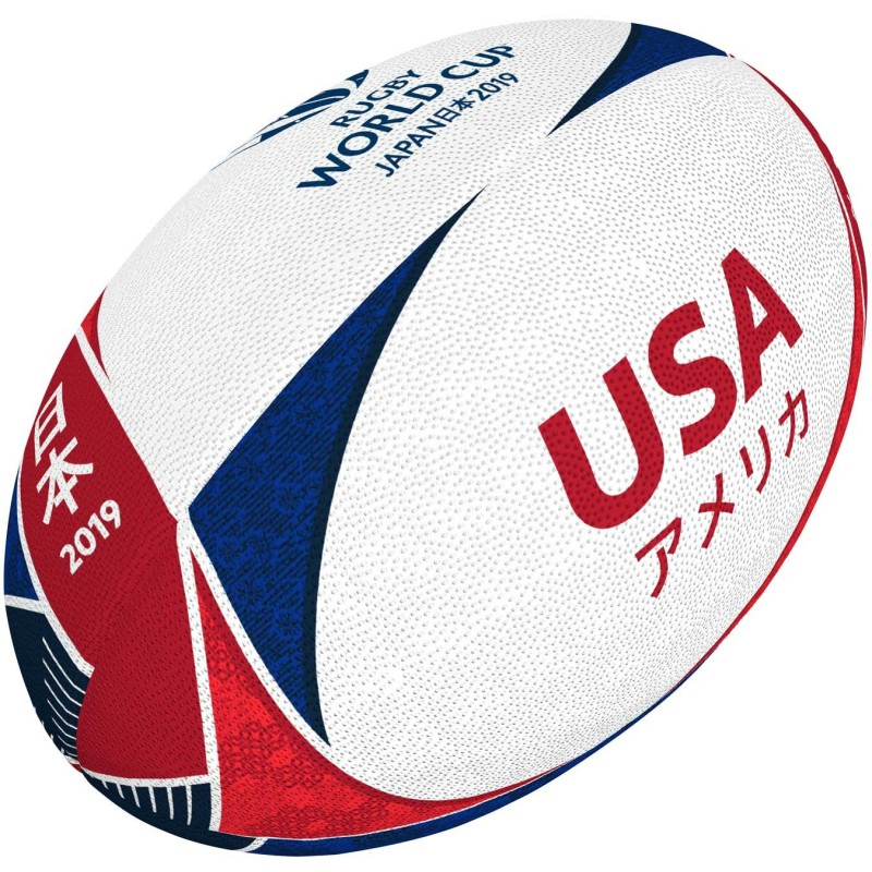 Ballon Rugby Flag France RWC 2019 / Gilbert