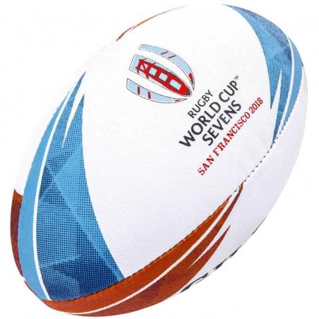 Ballon Rugby Replica RWC Seven 2018 / Gilbert