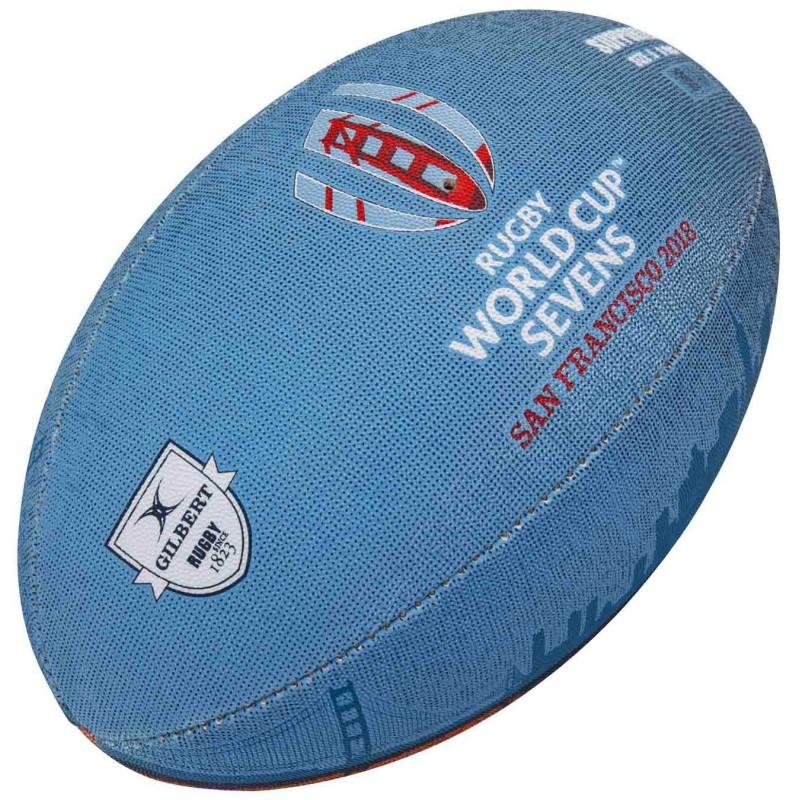 Ballon Rugby Replica RWC Seven 2018