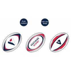 Ballons de rugby personnalisés / Gilbert