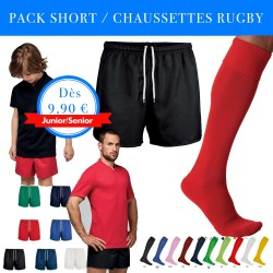 Pack Shorts-Chaussettes Rugby / Proact