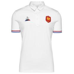 Polo de Présentation Blanc FFR / Le Coq Sportif
