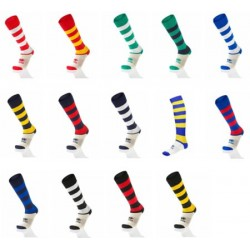 Chaussettes Rugby Rayées / Errea