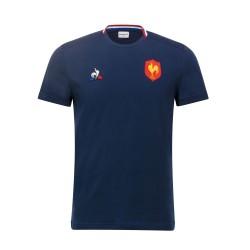 T-shirt de présentation Bleu FFR homme / Le Coq Sportif