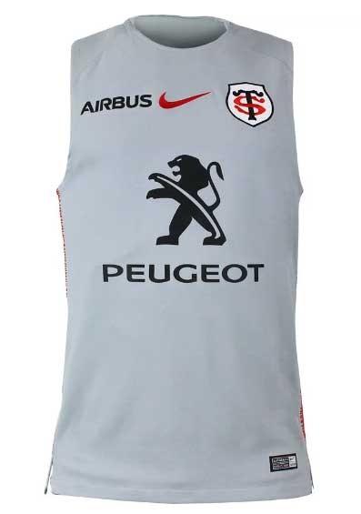 Camiseta Toulousain Nike tirantes rugby de de Stade bf76IyvYg
