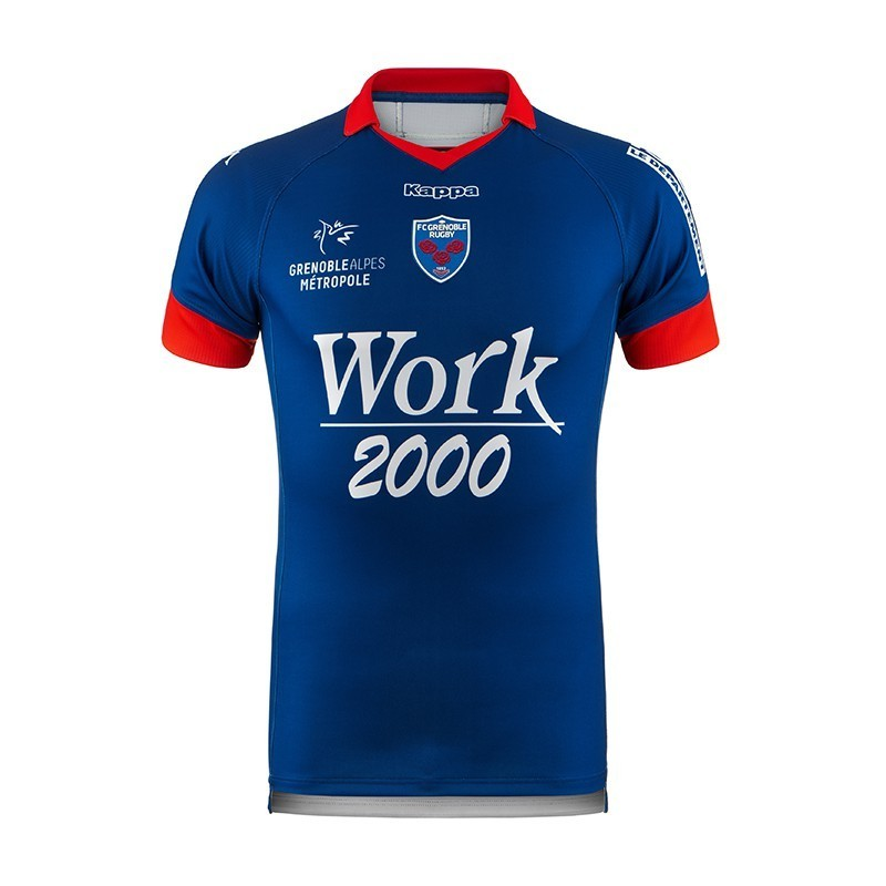 Maillot Rugby Domicile Adulte FC Grenoble / Kappa