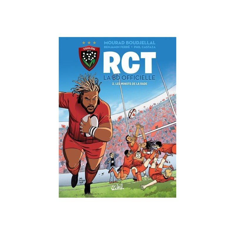 Bande Dessinnée Officielle du RCT