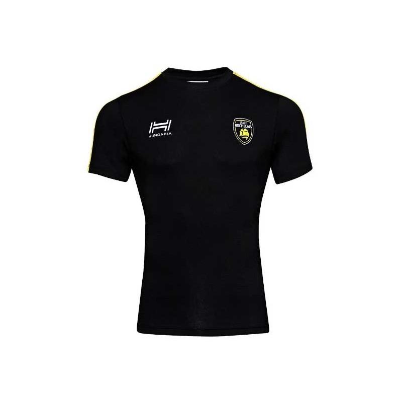 T-shirt Noir Fan Stade Rochelais / Hungaria