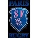 Veste rugby bleu marine zippée / Stade Français Paris